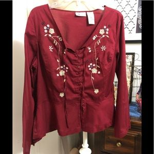 Faded Glory beautiful shirt, Size Large